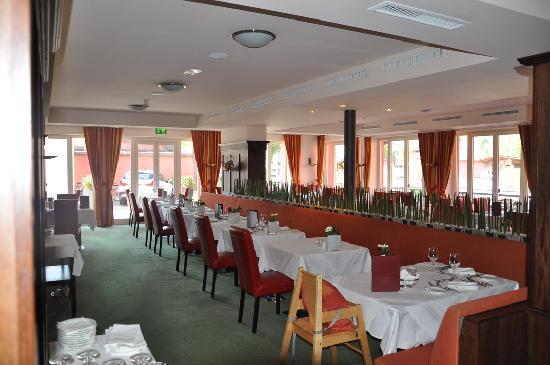 Das Hotel Eden: la sala pranzo
