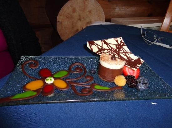 Le Grand Lodge Mont-Tremblant: Un dessert sublime