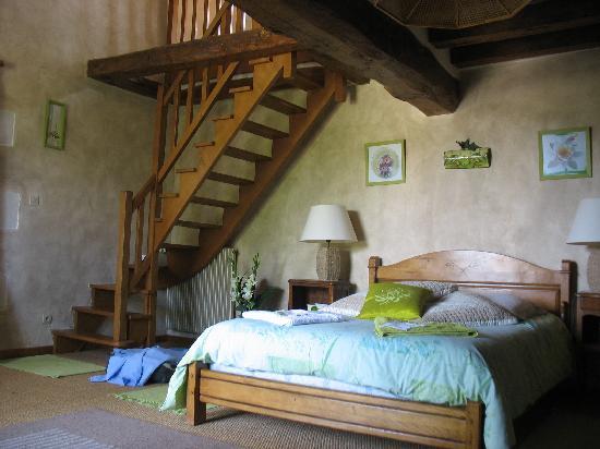 Au Prince Grenouille: Une chambre... avec un étage pour famille