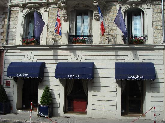 Hotel Le Grimaldi by HappyCulture: Entrance to Hotel Grimaldi