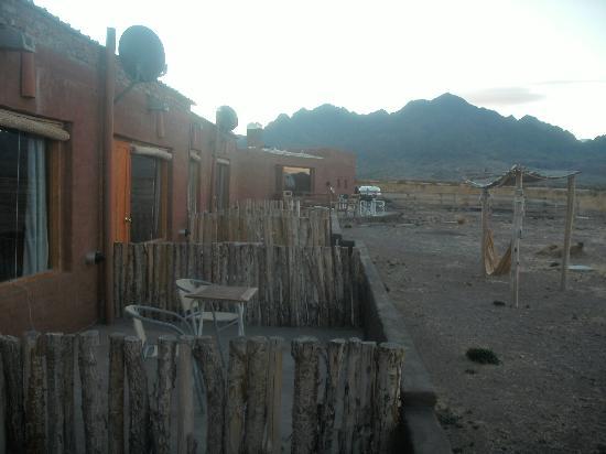 Hotel Pukarainca: Terrazas