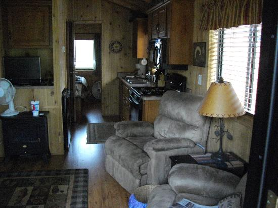 Paradise on the River: Inside the Cabin