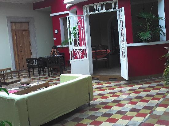 Hotel Villa Del Centro : Entrada al Comedor