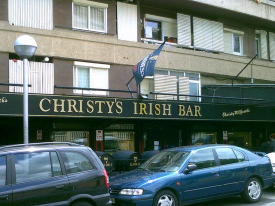 Christy's Irish Bar: During day light