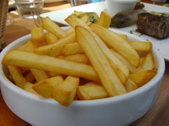 Le Carillon : Perfect french fries