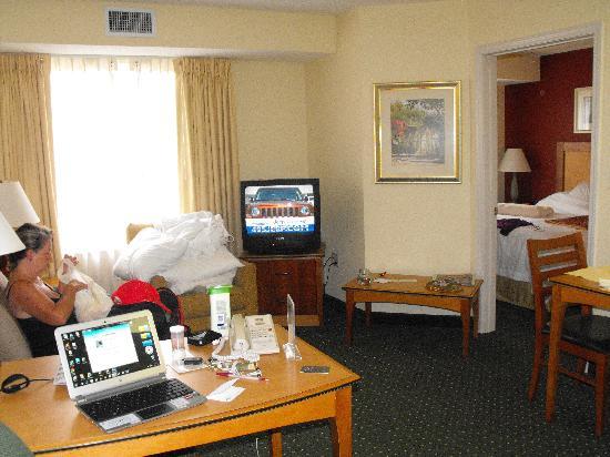 Residence Inn Hanover Lebanon: le salon