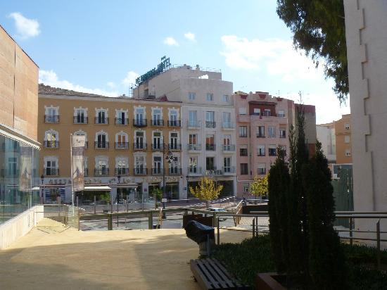 Los Habaneros: fachada del hotel