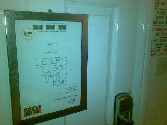 The Beeches Lodge: the upsidedown fire evacuation plan