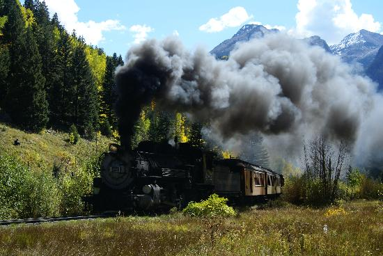 Durango and Silverton Narrow Gauge Railroad and Museum: Northbound Silverton