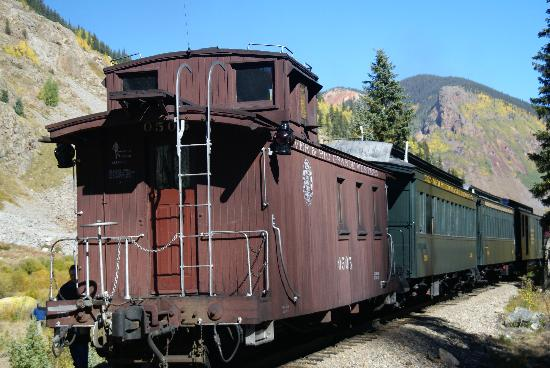 Durango and Silverton Narrow Gauge Railroad and Museum: Caboose