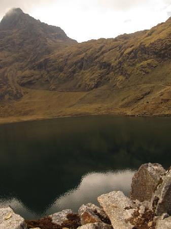 Quime, Bolivia: Naranjani lake