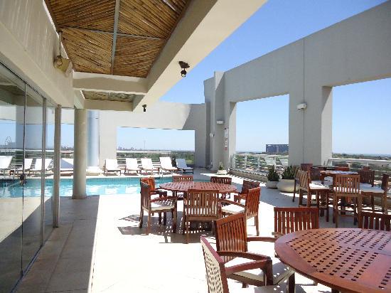 Sheraton Asuncion Hotel: terraza del hotel