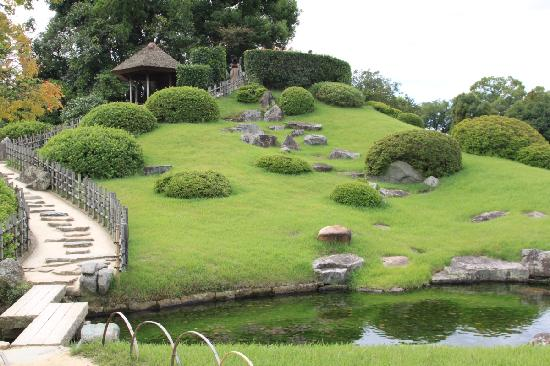 Okayama, Japón: Korakuen garden