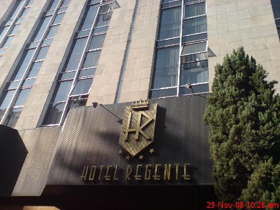 Hotel Regente City: Entrada Hotel