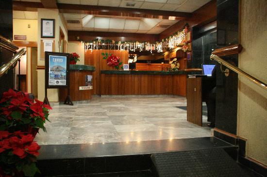 Hotel Regente City: Recepción (Nov2008)