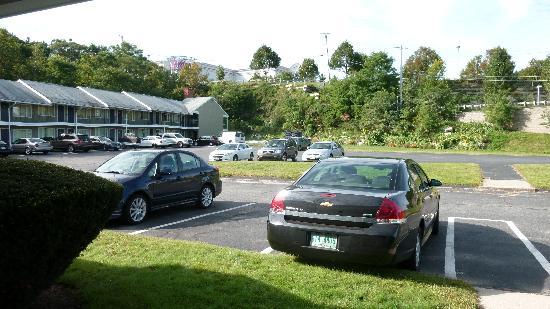 Monticello Motel: Parcheggio gratuito...