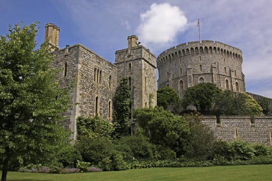 พระราชวังวินด์เซอร์: castle view