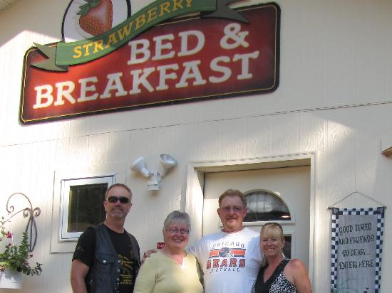 Strawberry Bed and Breakfast: On our way - see you next year!