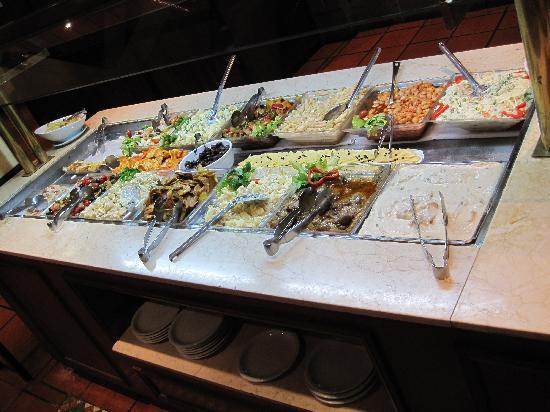 Siga La Vaca: Salad bar