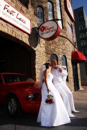 The Fast Lane Drive Thru Weddings - Picture of Vegas ...