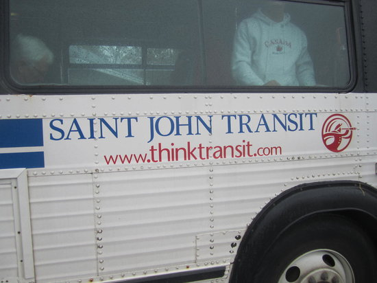 City Tour of Historic Saint John - Saint John Transit