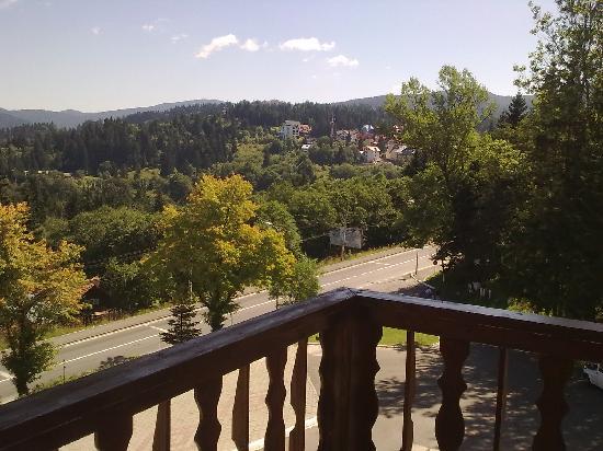Rozmarin Hotel: Cioplea seen from balcony