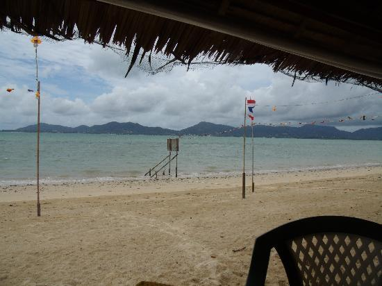 Sansuko Ville Bungalow Resort: View from the Beach Bar just five minutes away from Sansuko