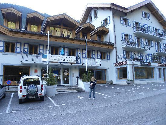 Residence & Spa Vallorcine Mont Blanc: vista frontale