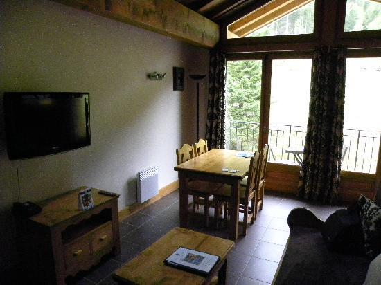 Residence & Spa Vallorcine Mont Blanc: zona giorno