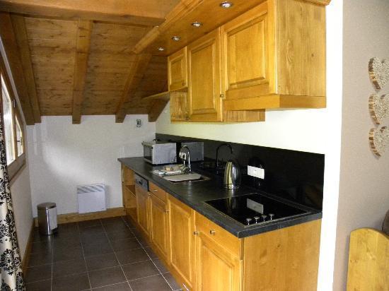 Residence & Spa Vallorcine Mont Blanc: cucina