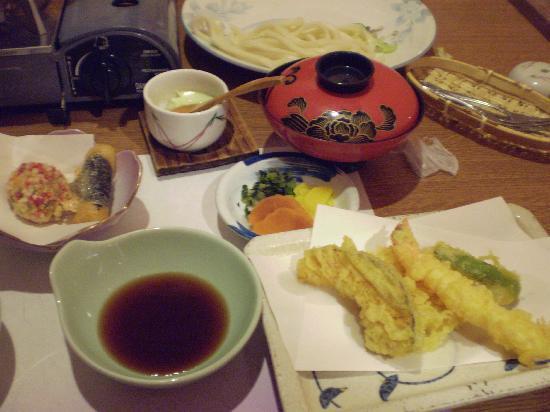 Yumeoiso: 夕食です。ボリューム満点!