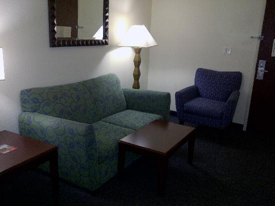 SpringHill Suites Pasadena Arcadia: Living area