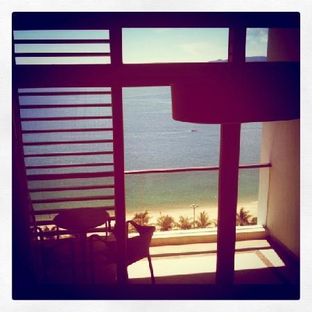 โรงแรมโนโวเทลญาจาง: the balcony