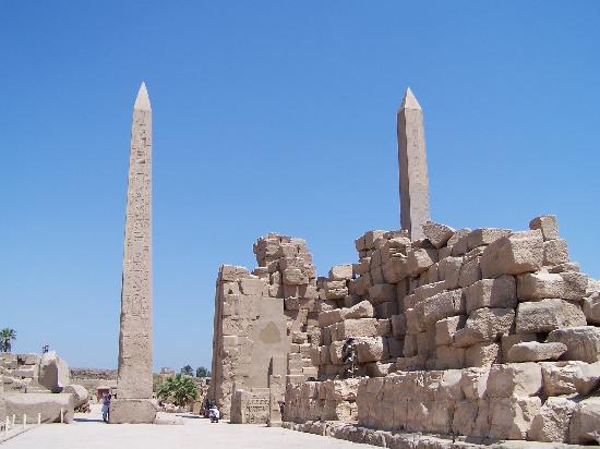 วิหารคาร์นัค: Tempio di Karnak - obelischi
