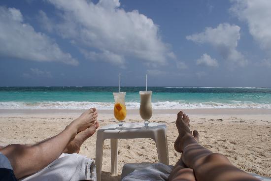 Hotel MS San Luis Village: relax total en el bar de la playa del hotel en san luis :)