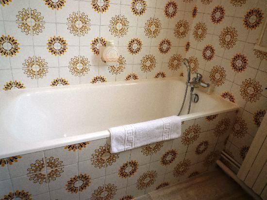 Hotel du Parc : Bathtub, stopper was broken