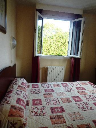 Hotel du Parc : room with a view(park)