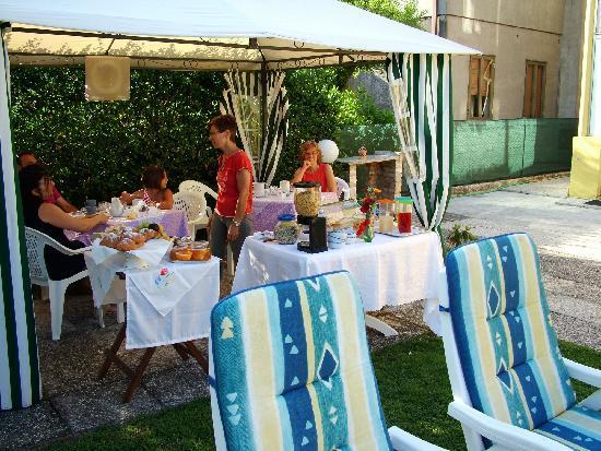 Alloggi Marin: Завтрак в отеле
