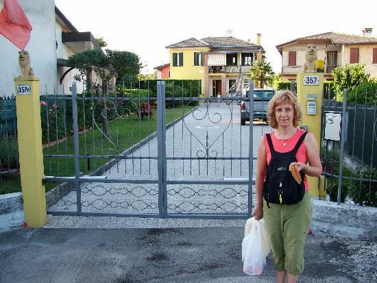 Alloggi Marin: Фасад отеля