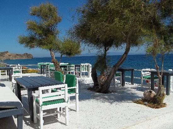 Lipsos Hotel Ata's Place: La terrazza