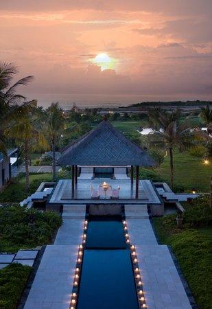 New Kuta Hotel: Romantic Dinner Gazebo