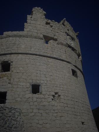 Nago, Italy: le bastion de Riva del Garda