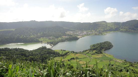 Quinta de Santana: Lagoa das Sete Cidade