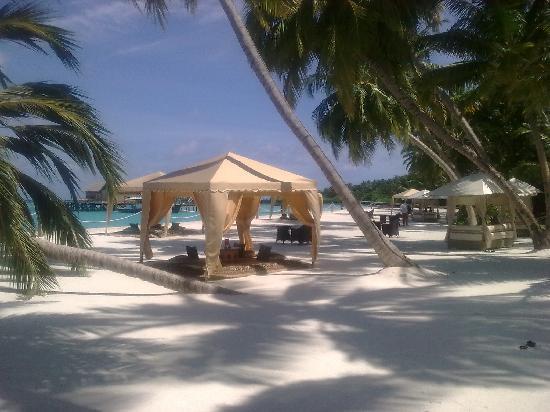 แชงกรีลาส์ วิลลิงกีลี รีสอร์ท แอนด์ สปา: beach cabana