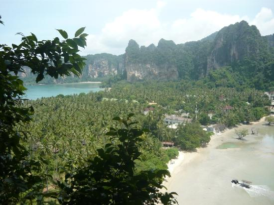 Railay Beach: view point