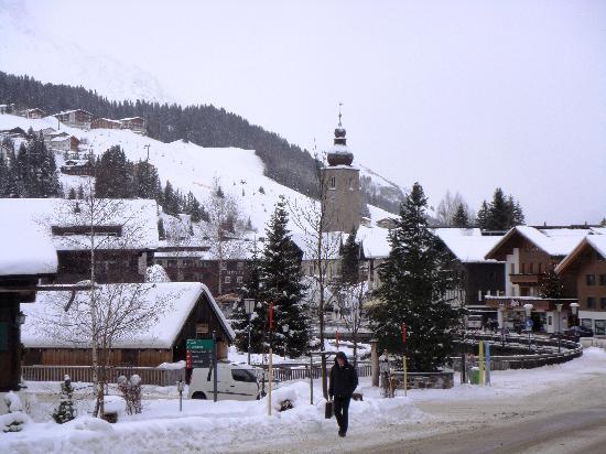 Pension Juliana : Il centro di Lech