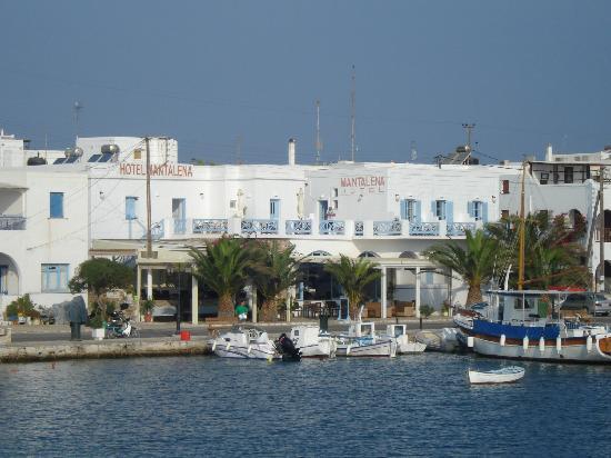 Mantalena Hotel: visto dal mare