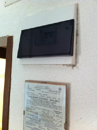 Hotel Casmona: Zimmer 201