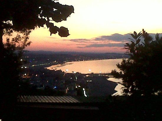 Gabicce Monte, Itália: Vista panoramica dal ristorante...