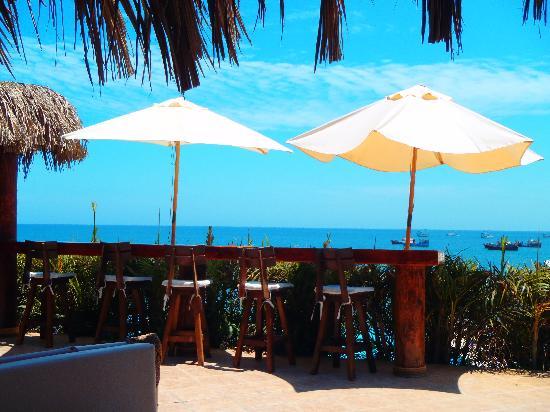 Hotel Grand Mare & Bungalows: Vista desde el comedor